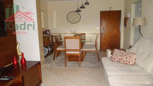 apartamento residencial à venda, vila tupi, praia grande. - ap0377