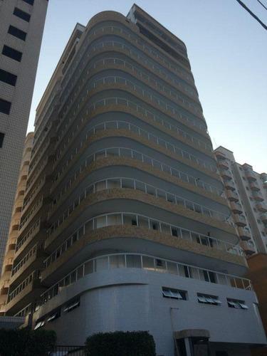 apartamento  residencial à venda, vila tupi, praia grande. - ap0487