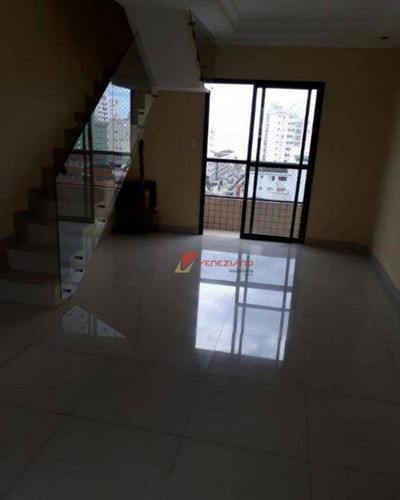 apartamento residencial à venda, vila tupi, praia grande. - ap0558