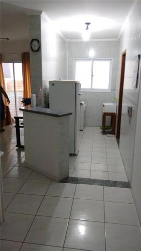 apartamento  residencial à venda, vila tupi, praia grande. - ap0568