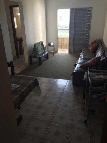 apartamento  residencial à venda, vila tupi, praia grande. - ap0626