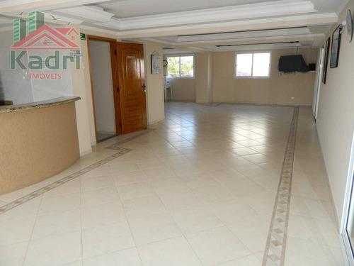 apartamento residencial à venda, vila tupi, praia grande. - ap0651