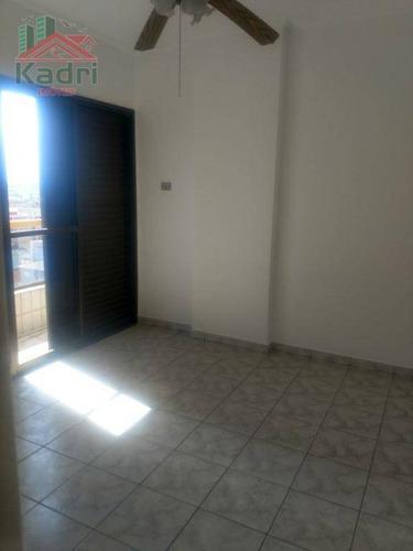 apartamento residencial à venda, vila tupi, praia grande. - ap0706
