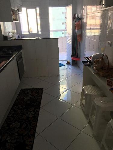 apartamento  residencial à venda, vila tupi, praia grande. - ap0753