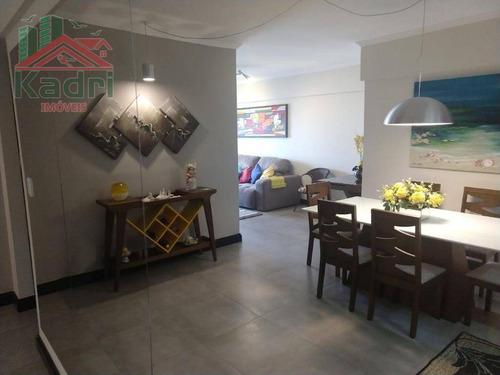 apartamento residencial à venda, vila tupi, praia grande. - ap0804