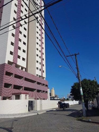 apartamento  residencial à venda, vila tupi, praia grande. - ap0818