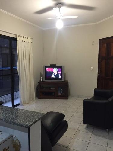 apartamento  residencial à venda, vila tupi, praia grande. - ap0820