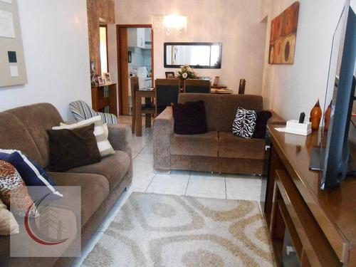 apartamento  residencial à venda, vila tupi, praia grande. - ap1303