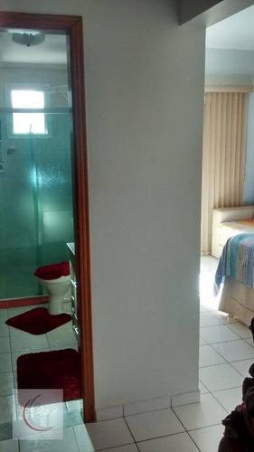 apartamento residencial à venda, vila tupi, praia grande. - ap1694