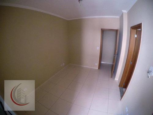apartamento residencial à venda, vila tupi, praia grande. - ap1900
