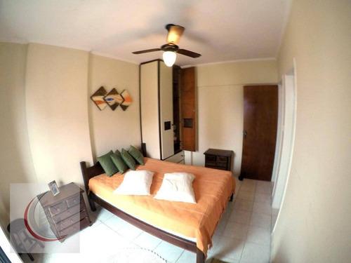 apartamento residencial à venda, vila tupi, praia grande. - ap1938