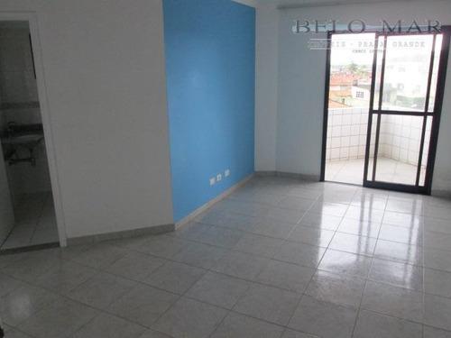 apartamento residencial à venda, vila tupi, praia grande. - codigo: ap0695 - ap0695