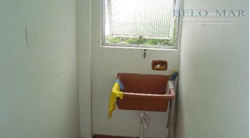 apartamento  residencial à venda, vila tupi, praia grande. - codigo: ap0743 - ap0743