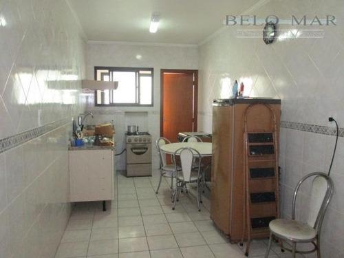 apartamento residencial à venda, vila tupi, praia grande. - codigo: ap0817 - ap0817