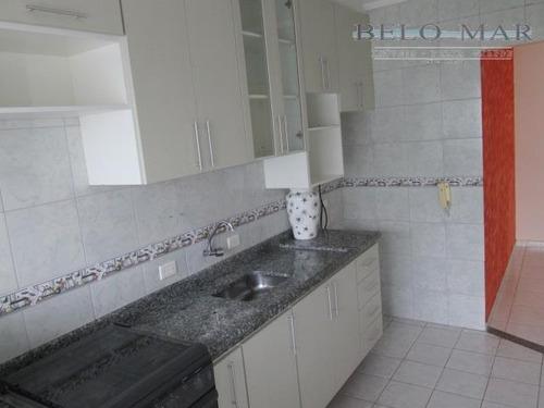 apartamento residencial à venda, vila tupi, praia grande. - codigo: ap0831 - ap0831