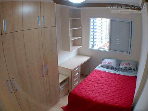 apartamento residencial à venda, vila tupi, praia grande. - codigo: ap1045 - ap1045
