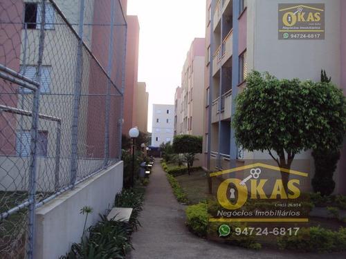 apartamento residencial à venda, vila urupês, suzano - ap0129. - ap0129