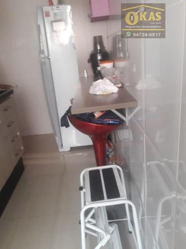 apartamento residencial à venda, vila urupês, suzano. - ap0295