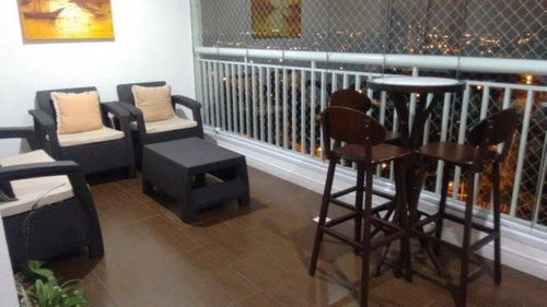 apartamento  residencial à venda, vila valparaíso, santo andré. - ap0694