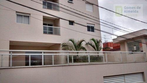 apartamento residencial à venda, vila valparaíso, santo andré - ap0824. - ap0824