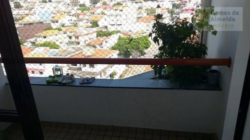 apartamento residencial à venda, vila valparaíso, santo andré - ap1193. - ap1193