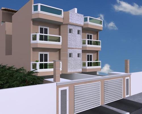apartamento residencial à venda, vila valparaíso, santo andré. - ap1405