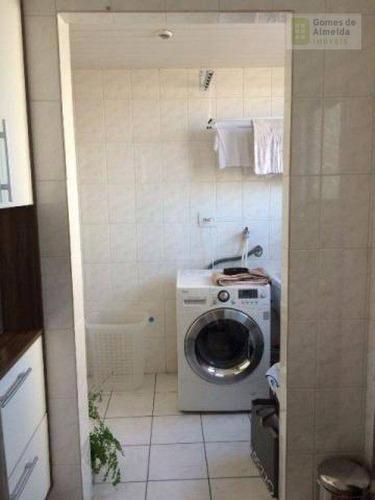 apartamento residencial à venda, vila valparaíso, santo andré - ap2151. - ap2151
