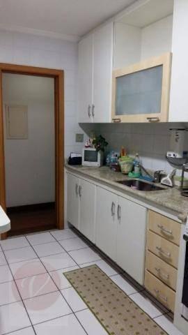 apartamento  residencial à venda, vila valparaíso, santo andré. - ap7205