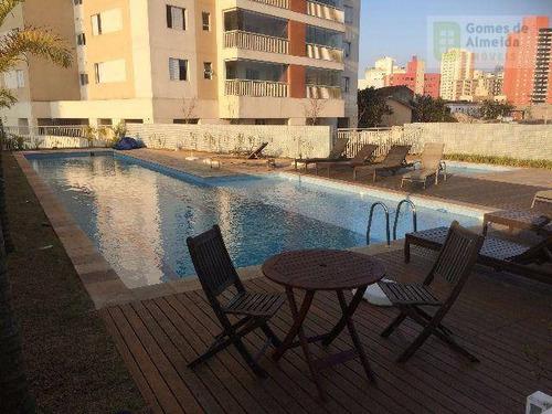 apartamento residencial à venda, vila valparaíso, santo andré. - codigo: ap2652 - ap2652
