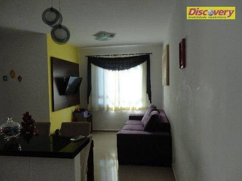 apartamento  residencial à venda, vila venditti, guarulhos. - ap0365