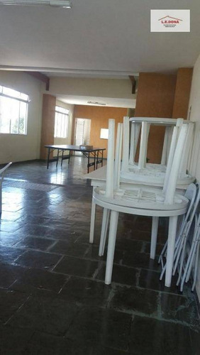 apartamento residencial à venda, vila yara, osasco. - ap1754