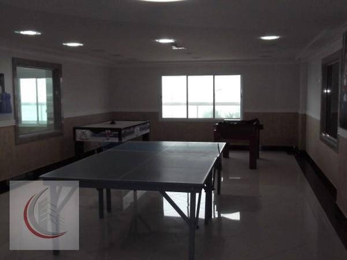 apartamento  residencial à venda, vilamar, praia grande. - ap0289