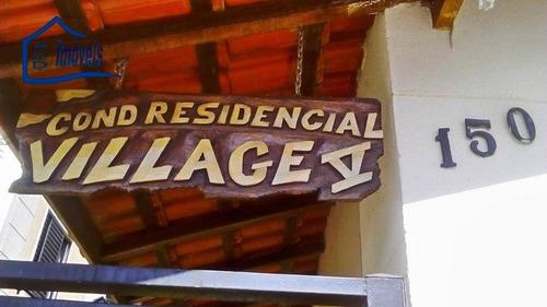 apartamento residencial à venda, village, itaquaquecetuba. - ap0052