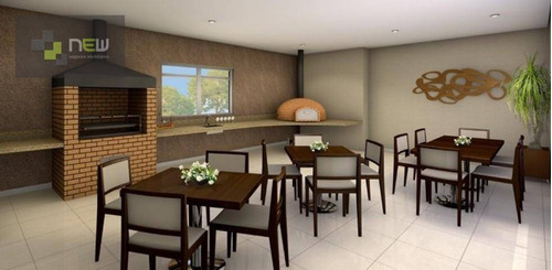 apartamento  residencial à venda, zona noroeste, santos. - ap0220