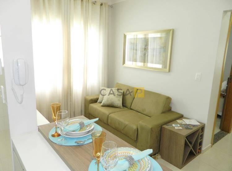 apartamento residencial à venda, zona predios residencial, nova odessa. - ap0208