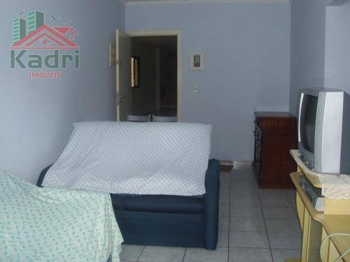 apartamento residencial à venda,vila tupi, praia grande, 2 dormitórios (1 suíte) - ap0563