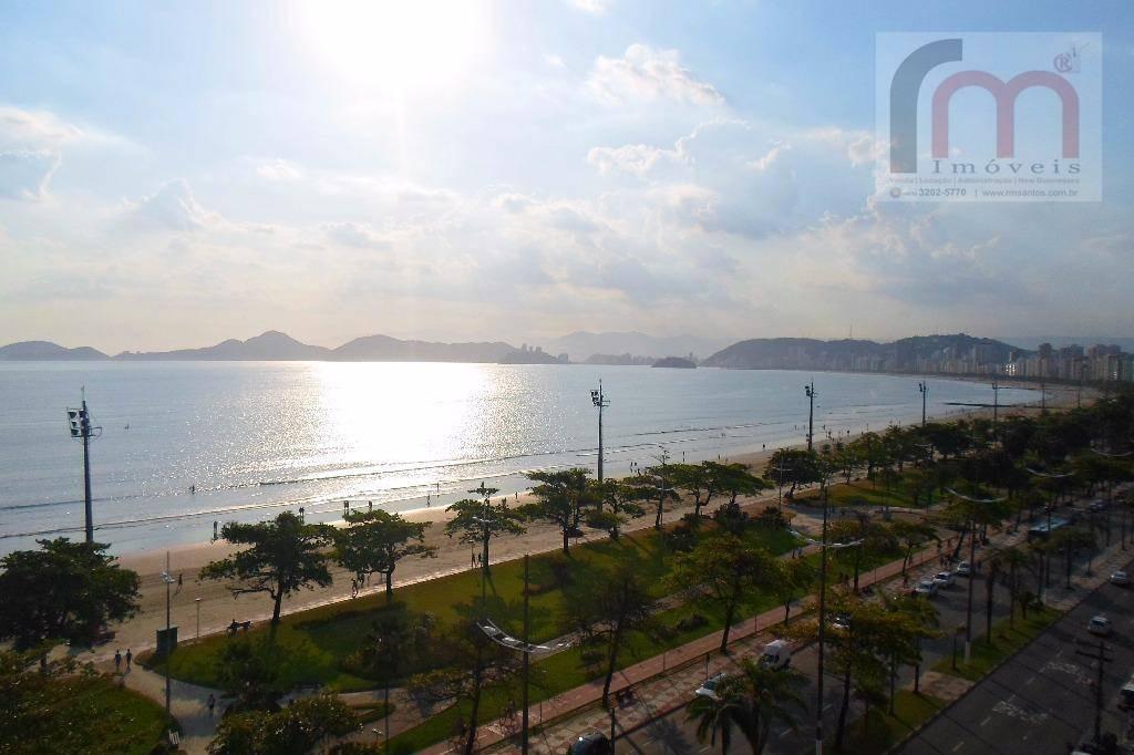 apartamento residencial vista ao mar à venda, aparecida, santos. - codigo: ap1969 - ap1969
