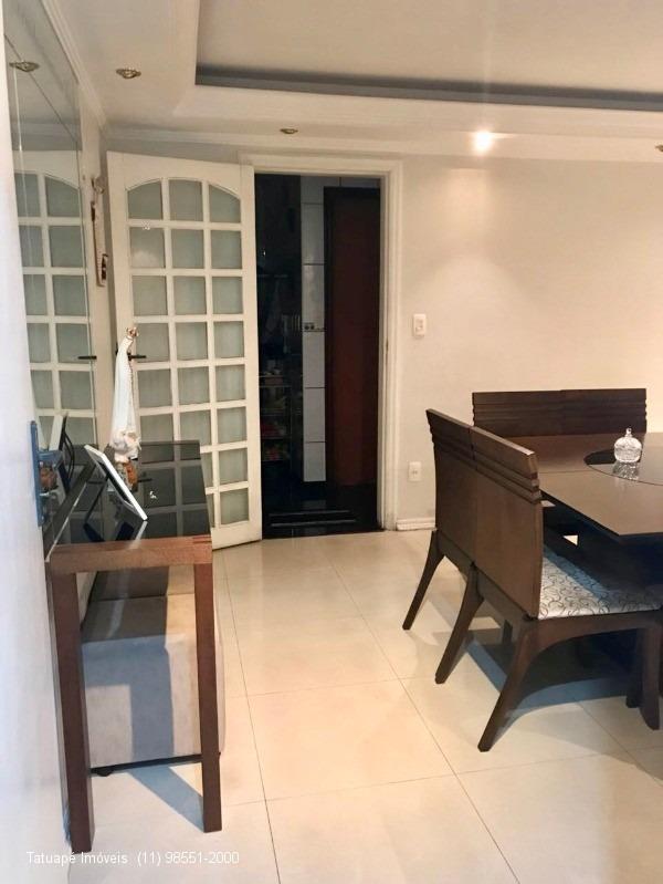 apartamento rua bacairis - 138m²