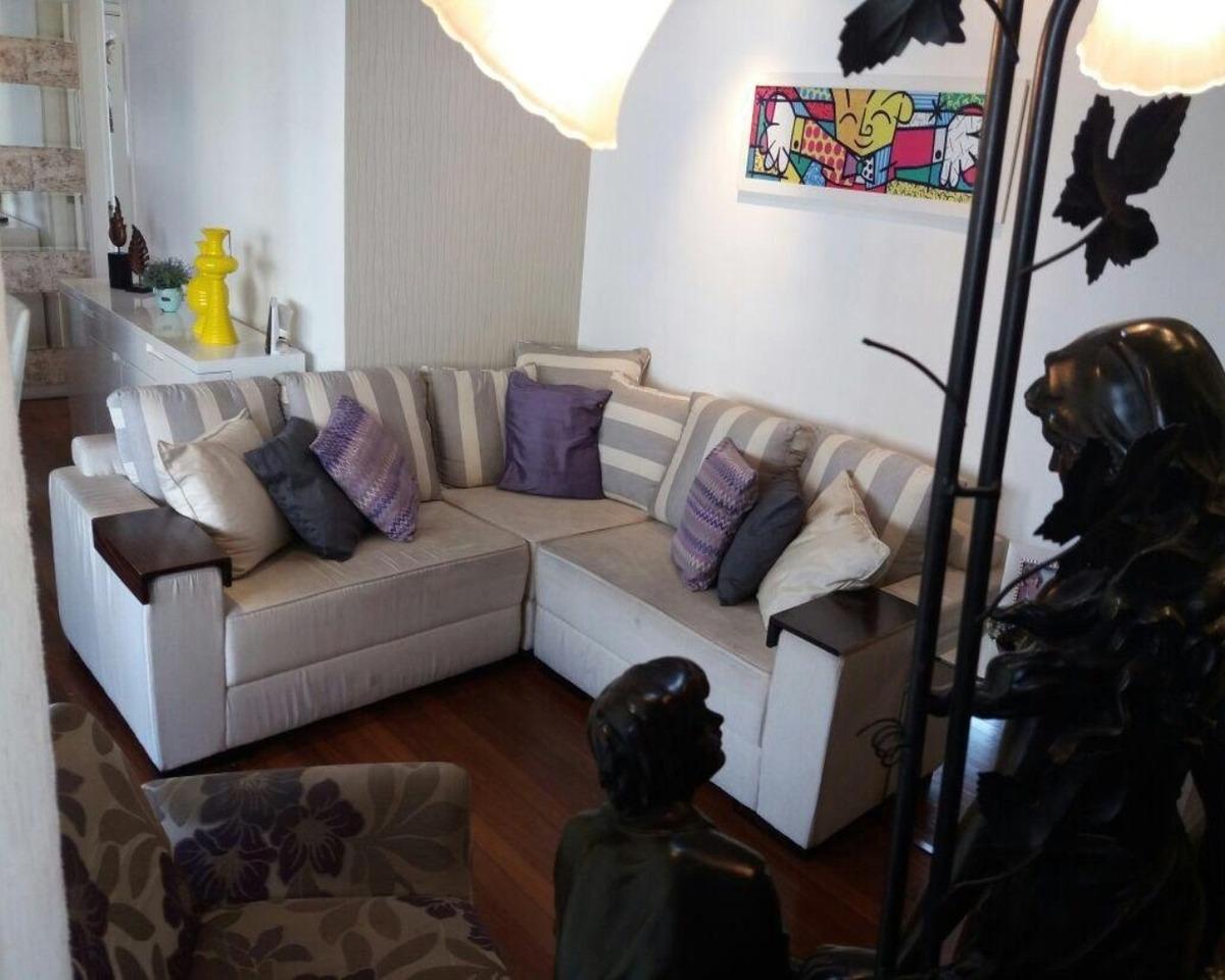 apartamento rua itapura - 91m²
