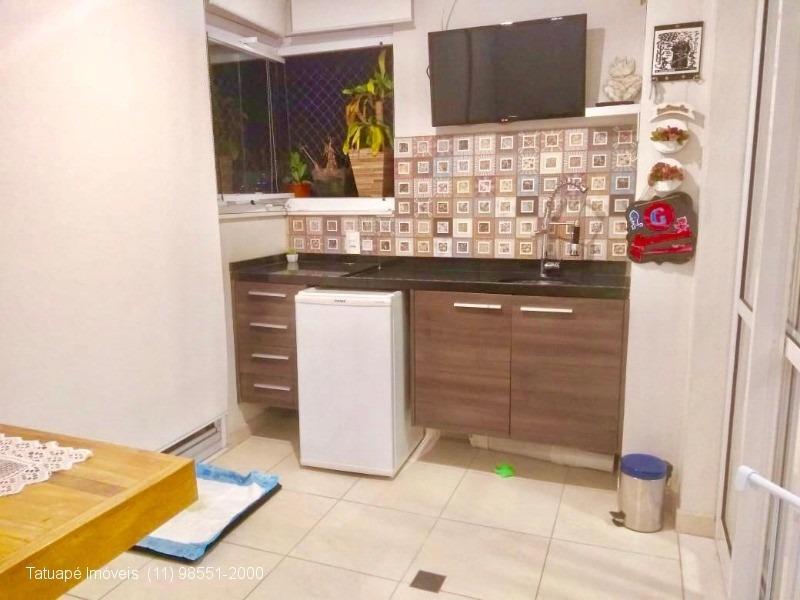 apartamento rua marechal barbacena - 78m²