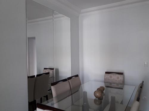 apartamento rudge ramos 3 dormitórios suite 2 vagas sem cond