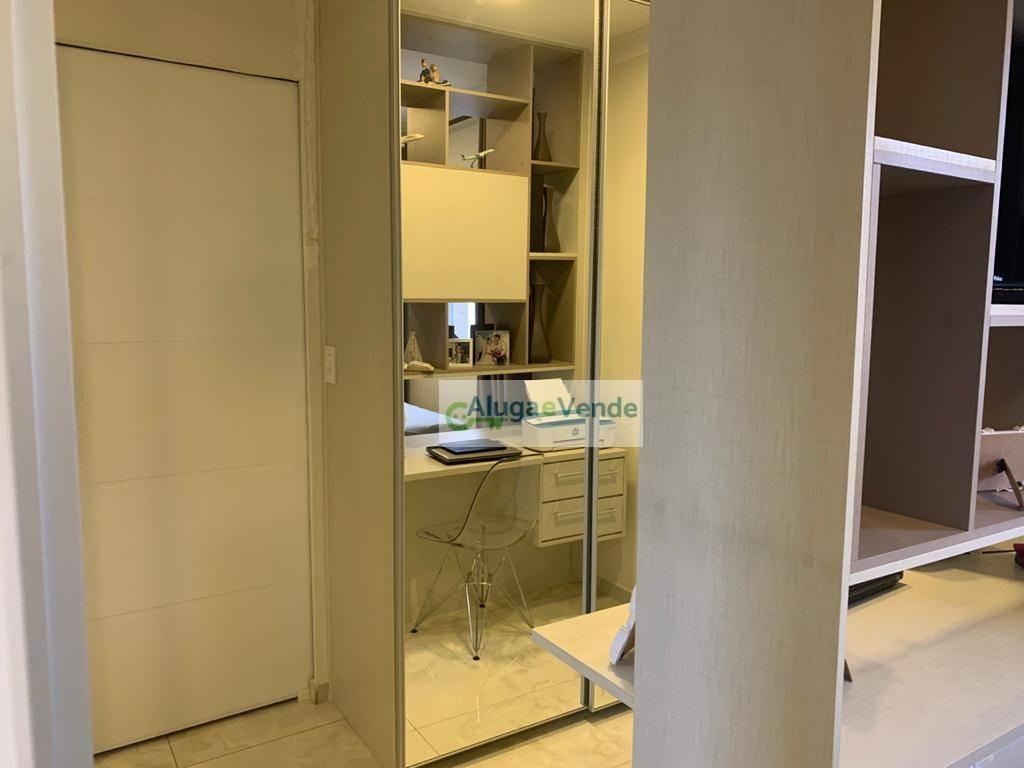 apartamento sala ampliada com 2 dormitórios, 1 suíte à venda no condomínio atmosphere, 71 m² por r$ 455.000 - macedo - guarulhos/sp - ap0188