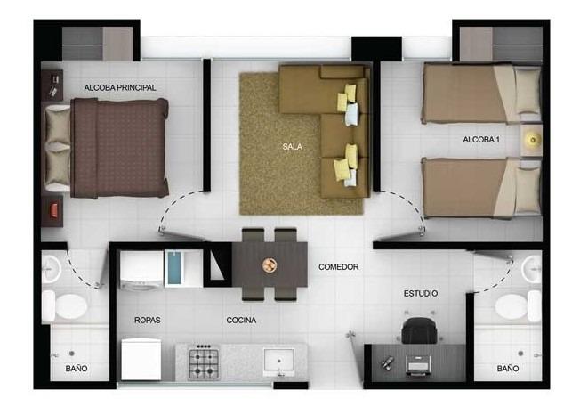apartamento, san francisco - atiko18 - precio negociable