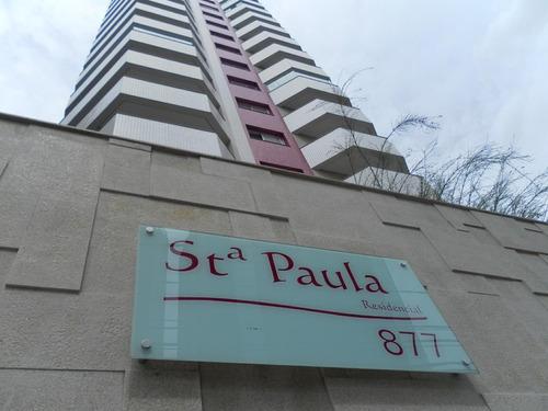 apartamento santa paula 1 suítes 3 dormitórios 2 banheiros 2 vagas - 1588