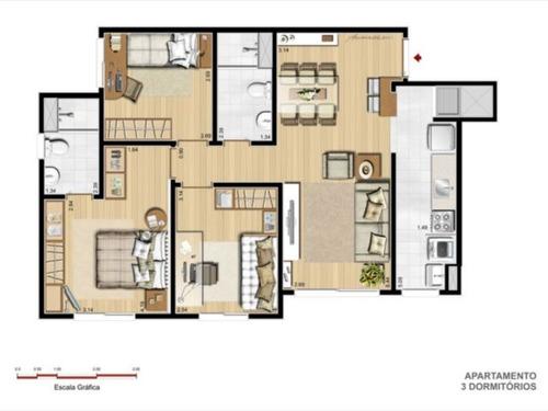 apartamento - sarandi - ref: 1966 - v-1966