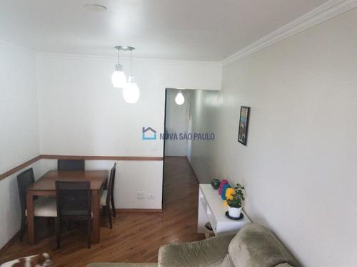 apartamento saúde 3 dormitórios, closet, lavabo, sala, 1 vaga, beliche planejado, face norte. - bi24752