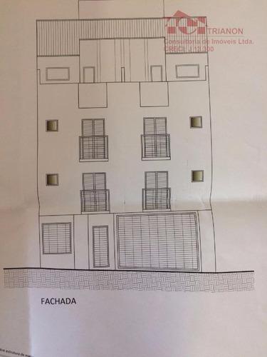 apartamento s/cond. em constr. à venda, vila pinheirinho, santo andré. - ap0920