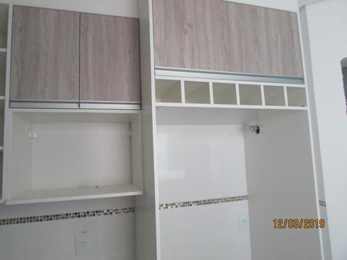 apartamento sem cond com 3 dormitórios(01 suíte )cozinha planejada,02 vagas de garagem  à venda, por r$ 270.000 - vila bela vista - santo andré/sp - ap0716