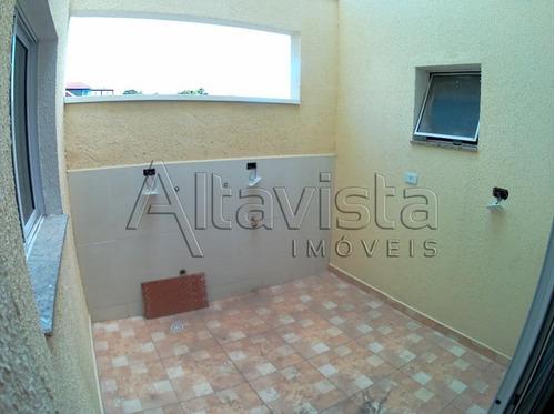 apartamento sem condomínio, 40m², 2 dorms, 1 vaga, vila bela vista, santo andré. - ap0593