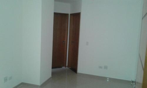 apartamento sem condomínio, 44m², campestre, santo andré. - ap0108
